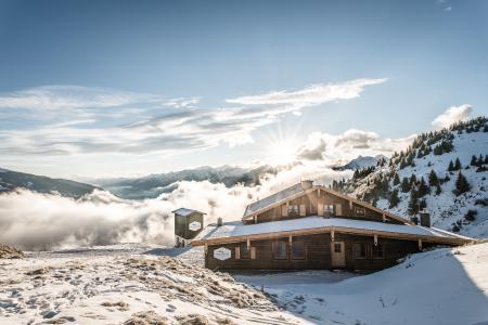 Skihütte Hütte Kitzbühel Resterhöhe Schutzhütte Berggasthaus Resterhöhe - Kitzbühel - Kitzbühler Skigebiet