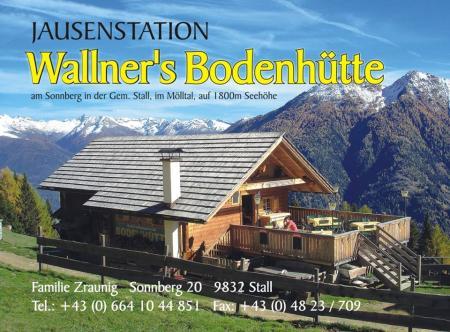 Hüttenvermietung / Viehzucht Zraunig Stall