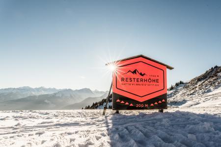 Skihütte Hütte Kitzbühel Resterhöhe Schutzhütte Berggasthaus Resterhöhe - Kitzbühel - Kitzbühler Skigebiet  Mittersill