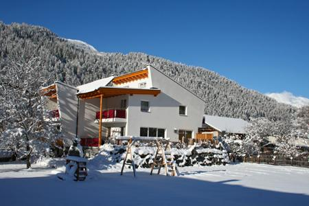 Appartement Ferienwohnung Alpenapartments**** Thöni Ried bei Serfaus_winter