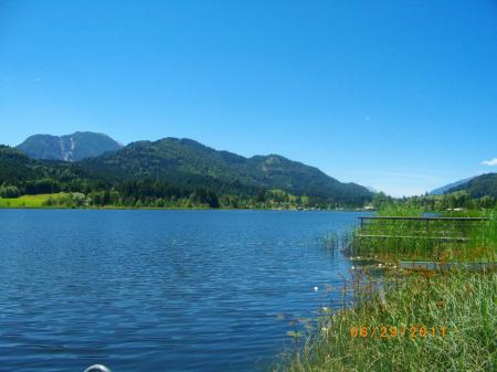 Holiday apartment Weissensee