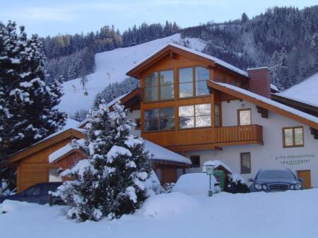 Golf und Skipension Krug_winter