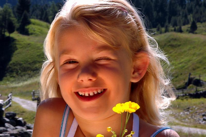 Mädchen Foto-B.Lauen Osttirol Werbung