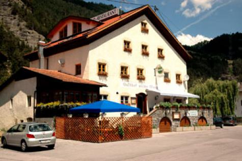 Gasthof Pension Wilder Mann Wellness-Bereich