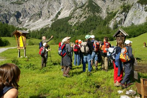 Youth hostel mountaineering courses