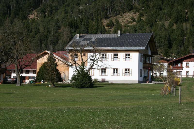 Youth hostel in the mountains
