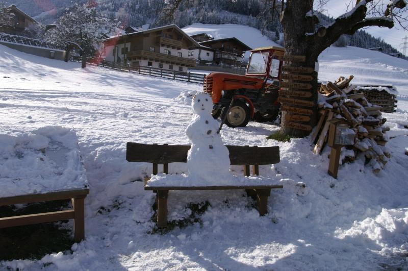 Schneespass beim Vordergugg