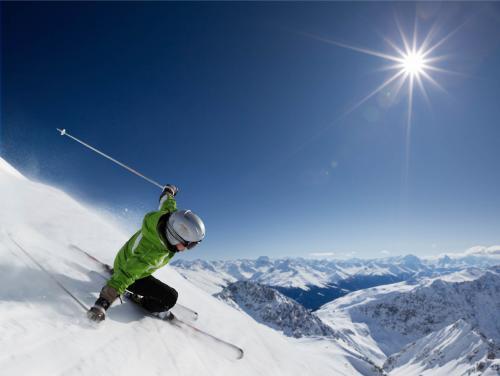 Tomperkasa Schi fahren