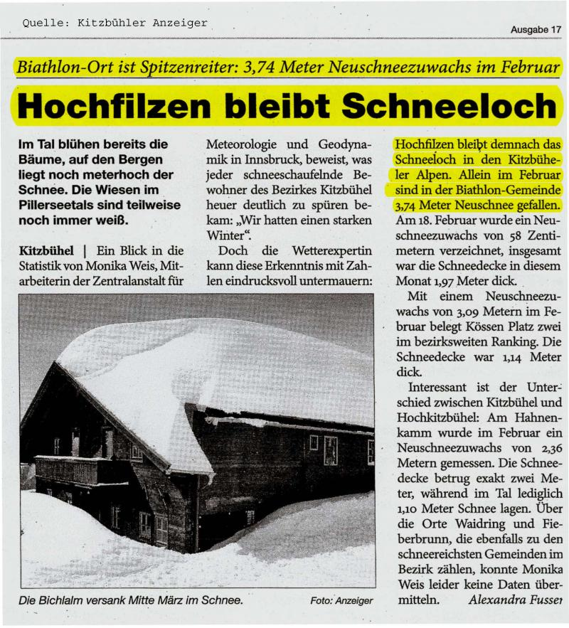 Hochfilzen_Artikel_Schneeloch