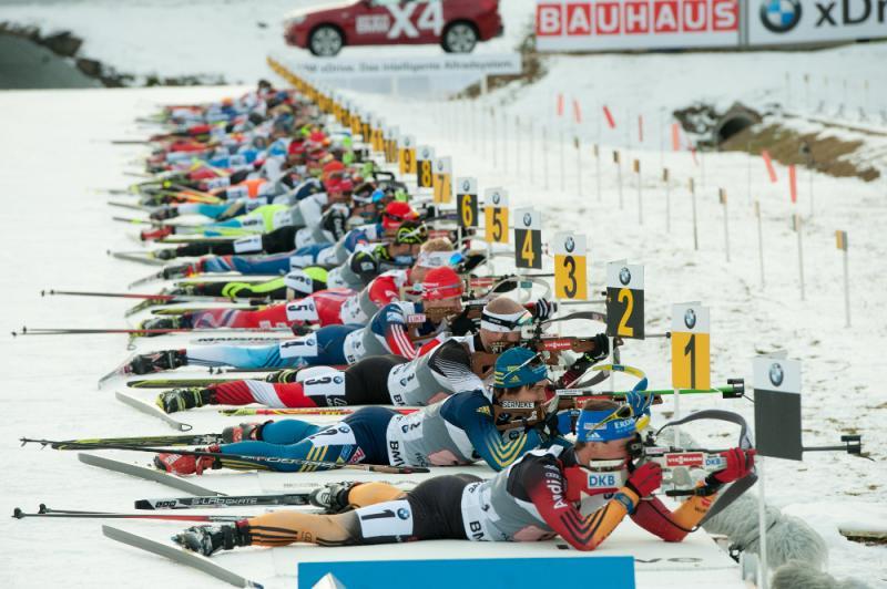 2014-5 Biathlon Hochfilzen Staffel Herrenopt