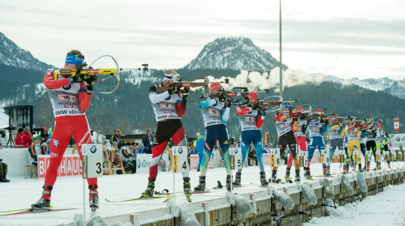 2014-4 Biathlon Hochfilzen Staffel Herrenopt