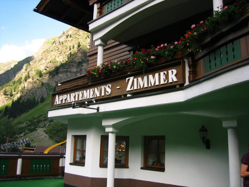 Appartement Pension Alpin Österreich