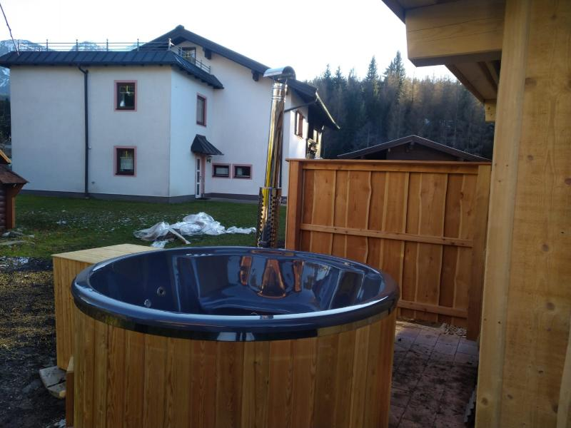 Hot Tube Pool Neu Chalet Karin20