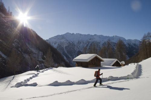 Skitour Almhütten