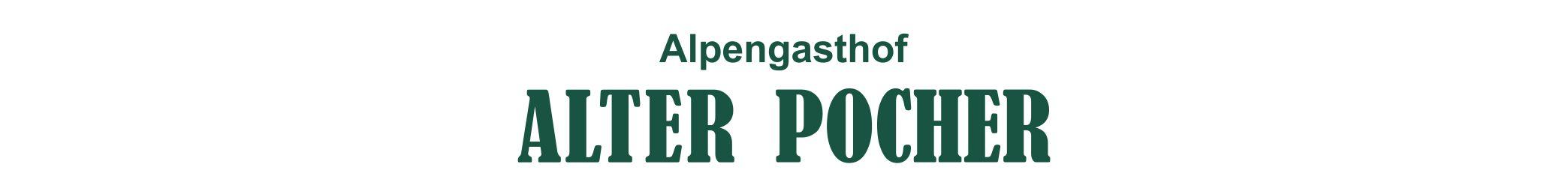 """Alpengasthof """"Alter Pocher"""" <br>Monika Rösler"""